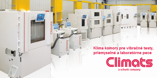 CLIMATS - Klíma komory, laboratórne a priemyselné pece