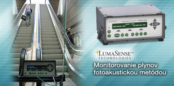 LUMASENSE TECHNOLOGIES - Monitorovanie plynov fotoakustickou metódou