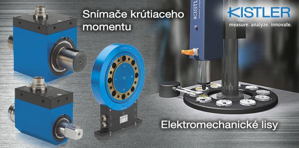 KISTLER - Snímače krútiaceho momentu - Elektromechanické lisy