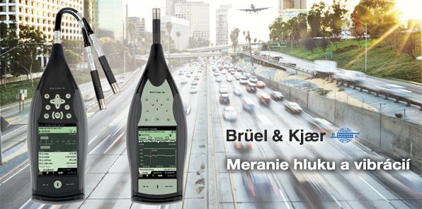 Bruel & Kjaer - Trvalé monitorovanie hluku v meste - Ručný analyzátor