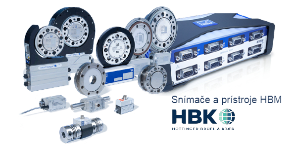 HBM Snímače sily, krútiaceho momentu a ďalších veličín