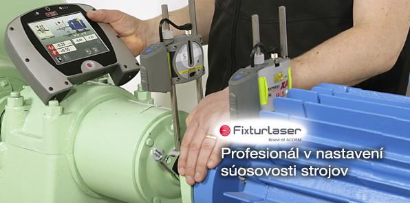 FIXTURLASER - Profesionál v nastavení súosivosti strojov